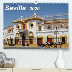 Sevilla Impressionen im Querformat 2020CH-Version (Premium, hochwertiger DIN A2 Wandkalender 2020, Kunstdruck in Hochglanz) von Schultes,  Michael
