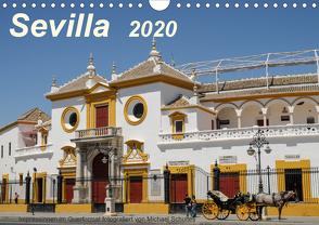 Sevilla Impressionen im Querformat 2020CH-Version (Wandkalender 2020 DIN A4 quer) von Schultes,  Michael