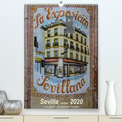 Sevilla Vertikal 2020 (Premium, hochwertiger DIN A2 Wandkalender 2020, Kunstdruck in Hochglanz) von Schultes,  Michael