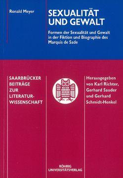 Sexualität und Gewalt von Meyer,  Ronald