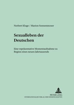 Sexualleben der Deutschen von Kluge,  Norbert, Sonnenmoser,  Marion