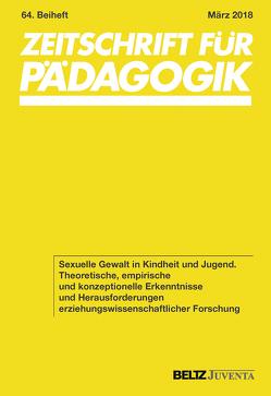 Sexuelle Gewalt in Kindheit und Jugend von Andresen,  Sabine, Tippelt,  Rudolf