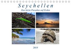 Seychellen – Das letzte Paradies auf Erden (Tischkalender 2019 DIN A5 quer) von Härlein,  Peter