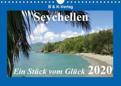 Seychellen – Ein Stück vom Glück (Wandkalender 2020 DIN A4 quer) von & Kalenderverlag Monika Müller,  Bild-