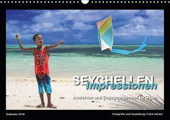 Seychellen Impressionen – Ansichten und Begegnungen auf La Digue (Wandkalender 2018 DIN A3 quer) von Höcker,  Frank