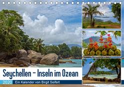 Seychellen – Inseln im Ozean (Tischkalender 2020 DIN A5 quer) von Harriette Seifert,  Birgit