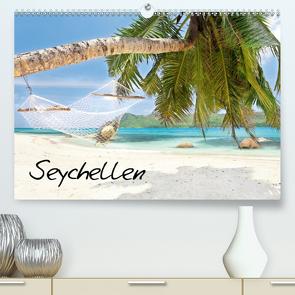 Seychellen (Premium, hochwertiger DIN A2 Wandkalender 2021, Kunstdruck in Hochglanz) von Sturm,  Jenny