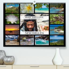 Seychellen (Premium, hochwertiger DIN A2 Wandkalender 2021, Kunstdruck in Hochglanz) von Tappeiner,  Kurt