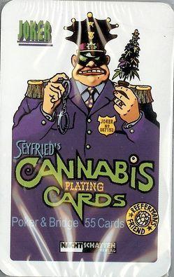 Seyfrieds 55 Cannabis Poker + Bridge Cards von Seyfried,  Gerhard