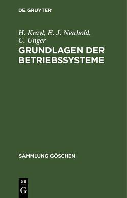 SG2051 KRAYL/NEUHOLD/UNGER: GRUNDL BETRIEBSSYST