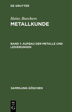 SG7432 BORCHERS:METALLKUNDE BD 1 8A