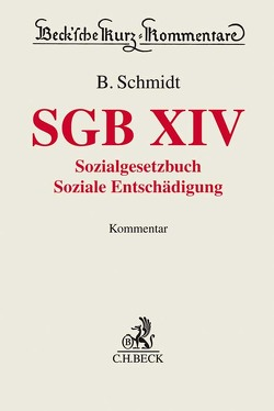 SGB XIV von Schmidt,  Benjamin