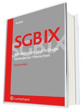SGB IX – Rehabilitation und Teilhabe behinderter Menschen von Knittel, Bernhard