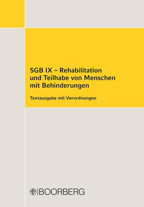 SGB IX – Rehabilitation und Teilhabe von Menschen mit Behinderungen
