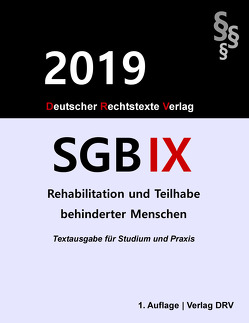 SGB IX von DRV,  Redaktion