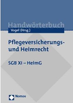 SGB XI von Vogel,  Georg