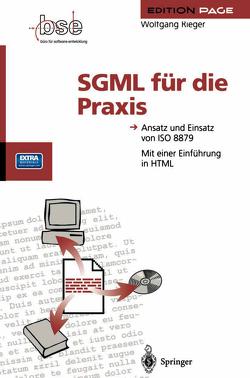 SGML für die Praxis von Rieger,  Wolfgang