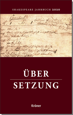 Shakespeare-Jahrbuch 2020 von Schülting,  Sabine