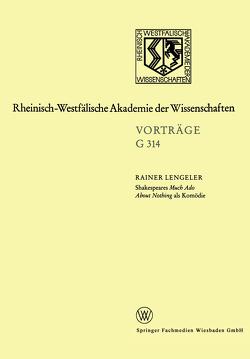 Shakespeares Much Ado About Nothing als Komödie von Lengeler,  Rainer