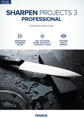 Sharpen projects 3 professional