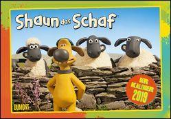 Shaun das Schaf 2019 – Broschürenkalender – Kinder-Kalender – mit Schulferienterminen und Stundenplänen – Format 42 x 29 cm von Aaardman Animations Ltd, DUMONT Kalenderverlag