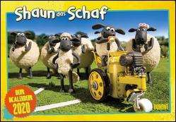 Shaun das Schaf 2020 – Broschürenkalender – Kinder-Kalender – mit Schulferienterminen und Stundenplänen – Format 42 x 29 cm von Aaardman Animations Ltd, DUMONT Kalenderverlag
