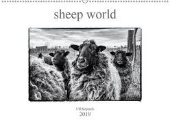 sheep world (Wandkalender 2019 DIN A2 quer) von Köpnick,  Ulf