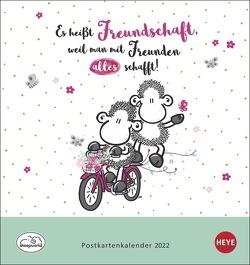sheepworld Postkartenkalender 2022 von Heye
