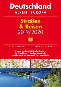 Shell Straßen & Reisen 2019/20 Deutschland 1:300.000, Alpen, Europa