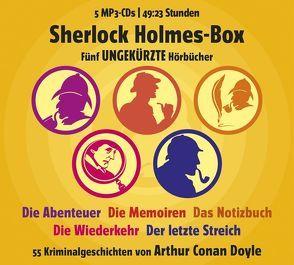 Sherlock Holmes Box von Conan Doyle,  Arthur, Great,  Ronny, Poewe,  Christian, RADIOROPA Hörbuch - eine Division der TechniSat Digital GmbH