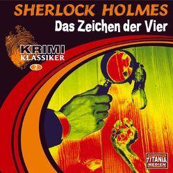 Sherlock Holmes – Das Zeichen der Vier von Augustinski,  Peer, Bierstedt,  Detlef, Doyle,  Arthur C, Gruppe,  Marc, Rode,  Christian, Sachau,  Janina, Tennstedt,  Joachim
