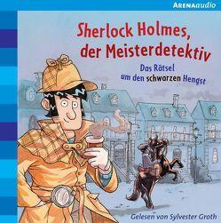 Sherlock Holmes, der Meisterdetektiv (2). Das Rätsel um den schwarzen Hengst von Groth,  Sylvester, Pautsch,  Oliver