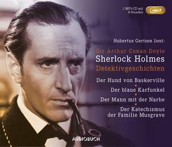 Sherlock Holmes Detektivgeschichten – Sonderausgabe (MP3-CD) von Doyle,  Sir Arthur Conan, Gertzen,  Hubertus