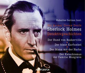 Sherlock Holmes Detektivgeschichten von Doyle,  Sir Arthur Conan, Gertzen,  Hubertus