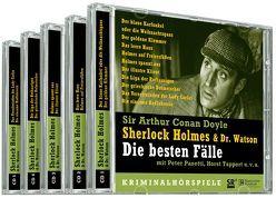 Sherlock Holmes & Dr. Watson. Die besten Fälle von DiCiriaco-Sussdorff,  Angela, Doyle,  Arthur C, Haaf,  Wilm ten, Hardwick,  Michael, Pasetti,  Peter, Stamm,  Heinz G, Tappert,  Horst