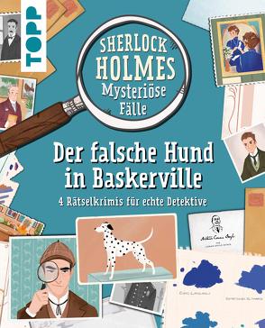 Sherlock Holmes – Mysteriöse Fälle: Der falsche Hund in Baskerville von Frenna,  Federica, GbR,  Scriptorium, Morgan,  Sally