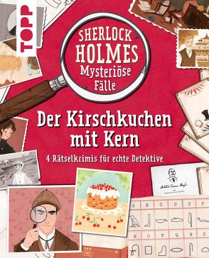 Sherlock Holmes – Mysteriöse Fälle: Der Kirschkuchen mit Kern von Frenna,  Federica, GbR,  Scriptorium, Morgan,  Sally