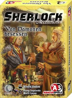 Sherlock Mittelalter – Von Dämonen besessen von Ibáñez,  Ricard, Sales,  Amelia