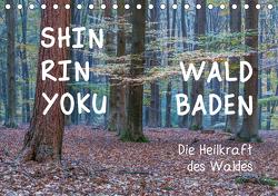 Shinrin yoku – Waldbaden 2021 (Tischkalender 2021 DIN A5 quer) von van der Wiel www.kalender-atelier.de,  Irma