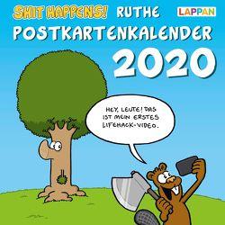 Shit happens! Postkartenkalender 2020 von Ruthe,  Ralph
