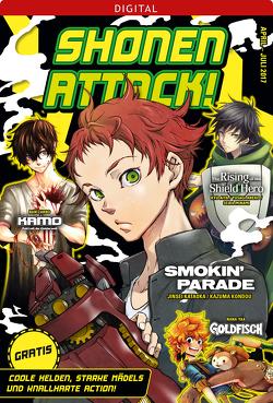 Shonen Attack Magazin #2 von Aiya,  Kyu, Aneko,  Yusagi, Hoshino,  Katsura, Ikeda,  Akihisa, Kataoka,  Jinsei, Kondou,  Kazuma, Minami,  Seira, Yaa,  Nana, Zarbo,  Ban