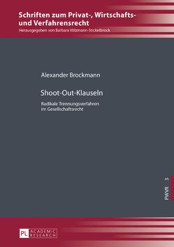 Shoot-Out-Klauseln von Brockmann,  Alexander