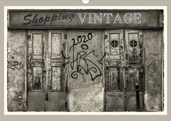 Shopping Vintage (Wandkalender 2020 DIN A3 quer) von Braun,  Werner
