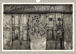 Shopping Vintage (Wandkalender 2020 DIN A4 quer) von Braun,  Werner