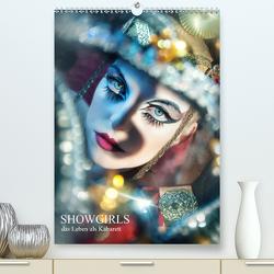 Showgirls – das Leben als Kabarett (Premium, hochwertiger DIN A2 Wandkalender 2021, Kunstdruck in Hochglanz) von Lior,  Jamari
