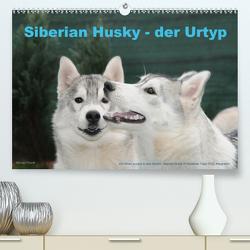 Siberian Husky – der Urtyp (Premium, hochwertiger DIN A2 Wandkalender 2020, Kunstdruck in Hochglanz) von Ebardt,  Michael