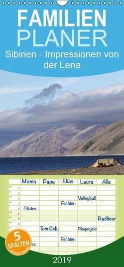 Sibirien- Impressionen von der Lena – Familienplaner hoch (Wandkalender 2019 , 21 cm x 45 cm, hoch) von Weise,  Ralf
