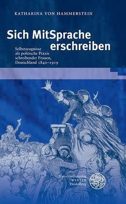 Sich MitSprache erschreiben von Hammerstein,  Katharina von