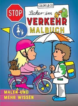 Sicher im Verkehr Malbuch von Colori & Co.