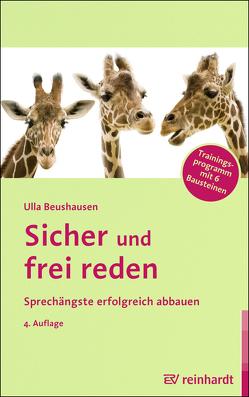 Sicher und frei reden von Beushausen,  Ulla